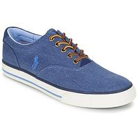 Sko Herre Lave sneakers Ralph Lauren VAUGHN Blå