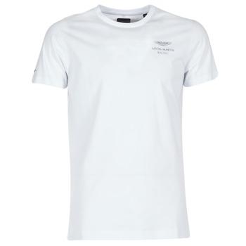 textil Herre T-shirts m. korte ærmer Hackett VEZINO Hvid