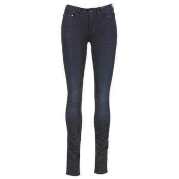 textil Dame Jeans - skinny G-Star Raw 3301 HIGH SKINNY Blå