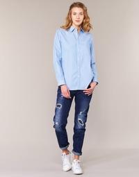 textil Dame Jeans - boyfriend G-Star Raw ARC 3D LOW BOYFRIEND Blå