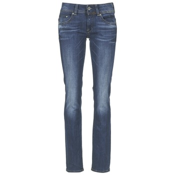 textil Dame Lige jeans G-Star Raw MIDGE SADDLE MID STRAIGHT Denim