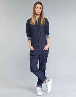 textil Dame Buksedragter / Overalls G-Star Raw STALT 3D Blå