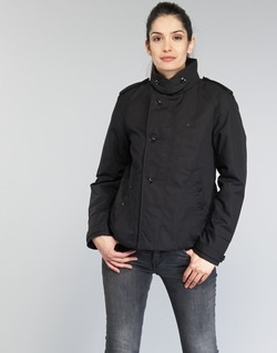 textil Dame Trenchcoats G-Star Raw FLORENCE CROPPED Sort