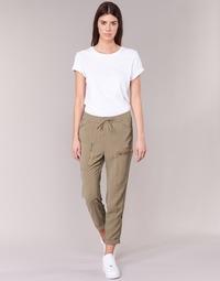 textil Dame Løstsiddende bukser / Haremsbukser G-Star Raw POWEL UTILITY 3D SPORT Beige