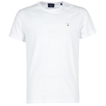 textil Herre T-shirts m. korte ærmer Gant THE ORIGINAL T-SHIRT Hvid