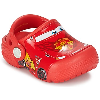 Sko Børn Træsko Crocs Crocs Funlab Light CARS 3 Movie Clog Rød