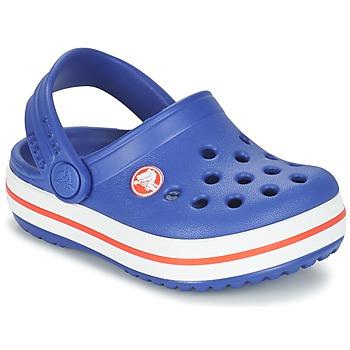 Sko Børn Træsko Crocs Crocband Clog Kids Blå