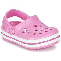 Sko Pige Træsko Crocs Crocband Clog Kids Pink