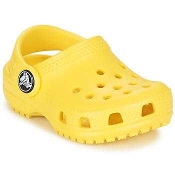 Sko Børn Træsko Crocs Classic Clog Kids Gul