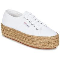 Sko Dame Lave sneakers Superga 2790 COTROPE W Hvid