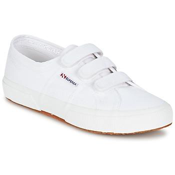 Sko Lave sneakers Superga 2750 COT3 VEL U Hvid