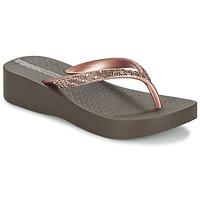 Sko Dame Flip flops Ipanema MESH PLAT II Brun / Pink