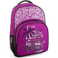 Tasker Pige Rygsække / skoletasker med hjul Route 66 Maryland Fuchsia