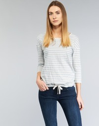 textil Dame Toppe / Bluser Marc O'Polo GRASSIRCO Hvid / Blå