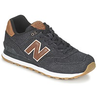 Sko Lave sneakers New Balance ML574 Sort