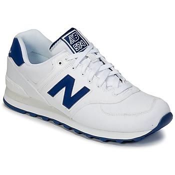 Sko Lave sneakers New Balance ML574 Hvid / Blå