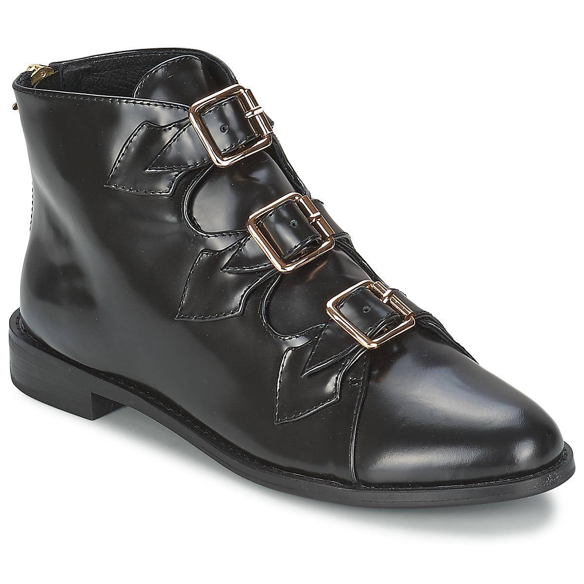 Sko F-Troupe  Triple Buckle Boot