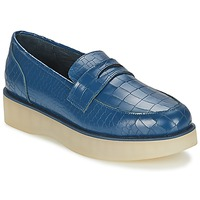Sko Dame Mokkasiner F-Troupe Penny Loafer Navy