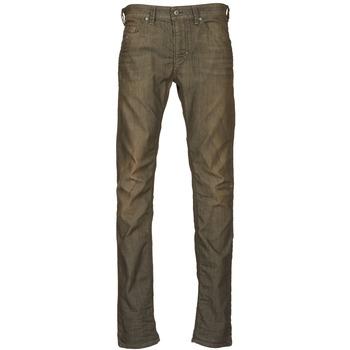 textil Herre Smalle jeans Diesel THAVAR KAKI