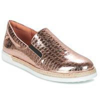 Sko Dame Slip-on Love Moschino JA10353G03 Guld / Pink
