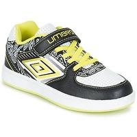 Sko Dreng Lave sneakers Umbro COGAN Sort / Hvid / Gul