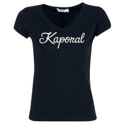 textil Dame T-shirts m. korte ærmer Kaporal NIAM Sort