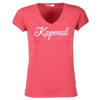textil Dame T-shirts m. korte ærmer Kaporal NIAM Pink