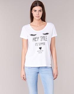 textil Dame T-shirts m. korte ærmer Kaporal ASMA Hvid