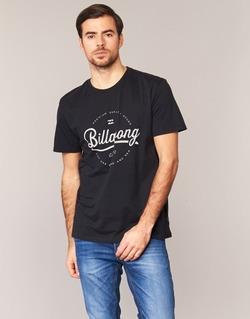 textil Herre T-shirts m. korte ærmer Billabong OUTFIELD TEE SS Sort
