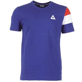 textil Herre T-shirts m. korte ærmer Le Coq Sportif BLUREA Blå