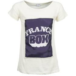 textil Dame T-shirts m. korte ærmer Kling WARHOL Hvid