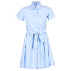 textil Dame Korte kjoler Compania Fantastica EBLEUETE Blå / Himmelblå