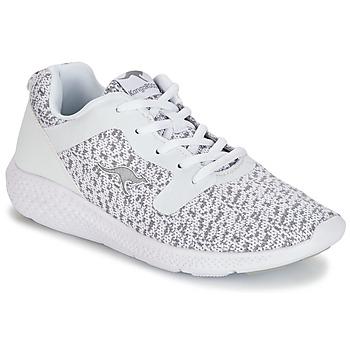 Sko Dame Lave sneakers Kangaroos KV 2 Hvid / Grå