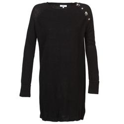 textil Dame Korte kjoler Suncoo CHARLIE Sort