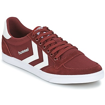 Sko Lave sneakers Hummel STADIL CANEVAS LOW Bordeaux