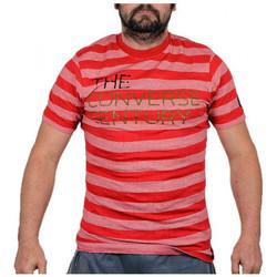 textil Herre T-shirts m. korte ærmer Converse  Rød