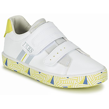 Sko Dreng Lave sneakers Ikks JOE Hvid / Gul