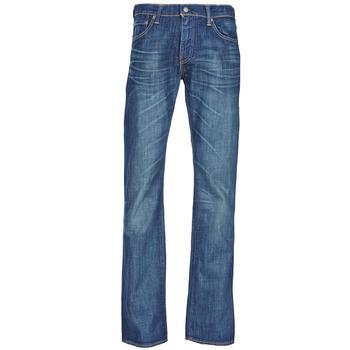 textil Herre Bootcut jeans Levi's 527 LOW BOOT CUT Blå