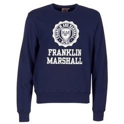 textil Herre Sweatshirts Franklin & Marshall NESS OFRA Marineblå