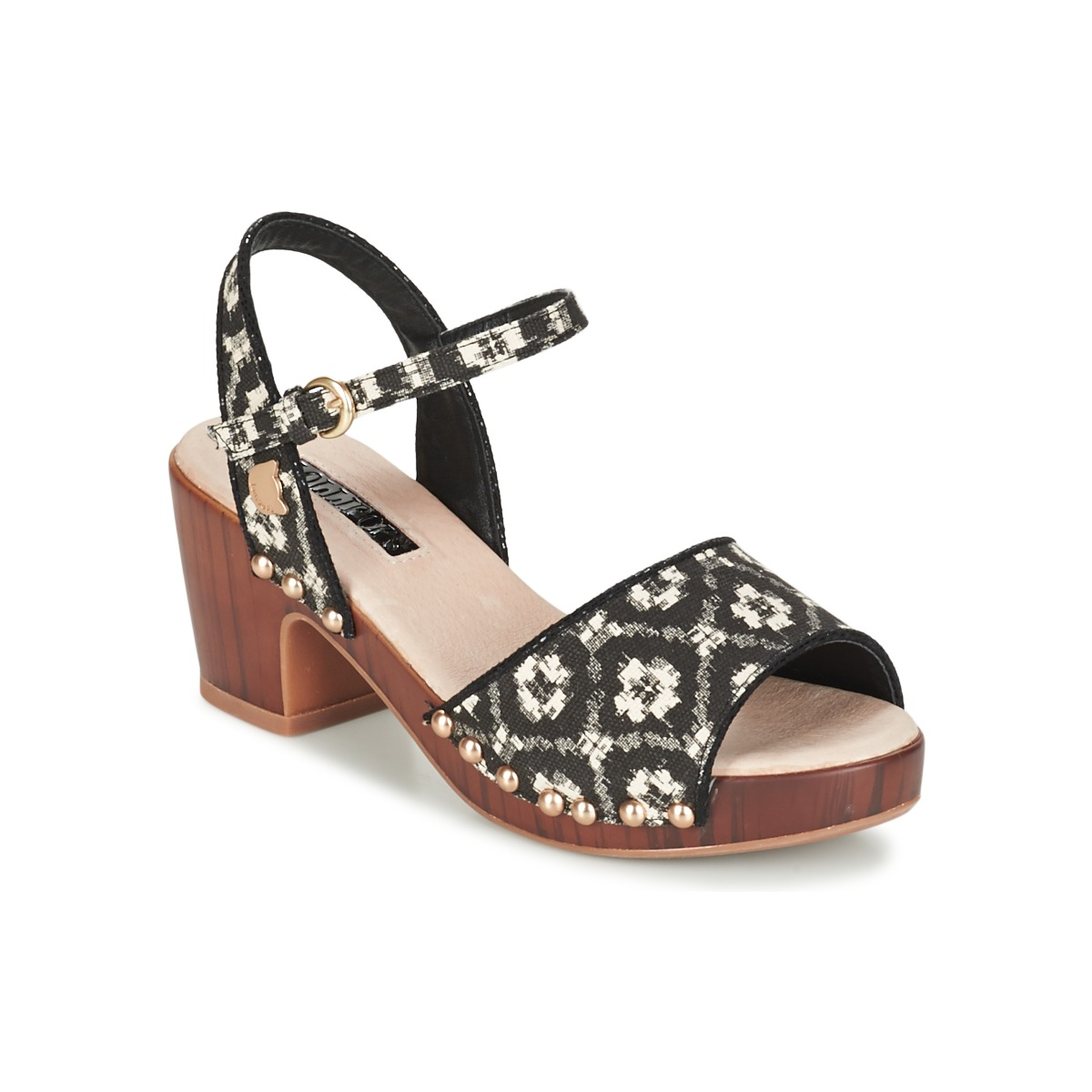 Træsko Lollipops  ZOOM WOOD HEEL SANDAL