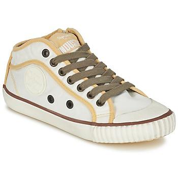 Sko Dame Lave sneakers Pepe jeans INDUSTRY Beige / Brun / Gul