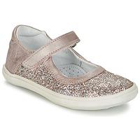 Sko Pige Ballerinaer GBB PLACIDA Pink / Guld