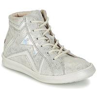 Sko Pige Høje sneakers GBB PRUNELLA Grå / Sølv