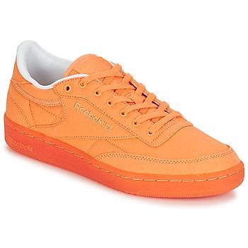 Sko Dame Lave sneakers Reebok Classic CLUB C 85 CANVAS Orange