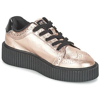 Sko Dame Lave sneakers TUK CASBAH CREEPERS Pink / Metal