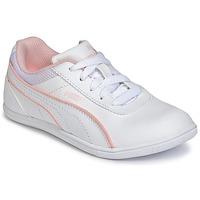 Sko Pige Lave sneakers Puma JR MYNDY 2 SL.WHT Hvid