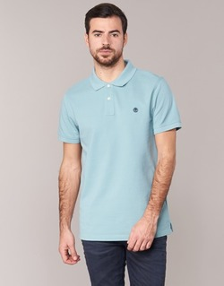 textil Herre Polo-t-shirts m. korte ærmer Timberland SS MILLERS RIVER PIQUE REG POLO Blå / LYS