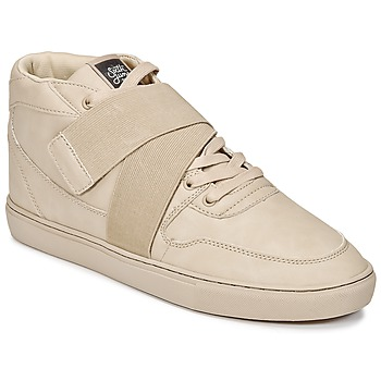 Sko Herre Høje sneakers Sixth June NATION STRAP Beige