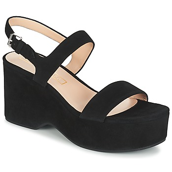 Sko Dame Sandaler Marc Jacobs LILLYS WEDGE Sort
