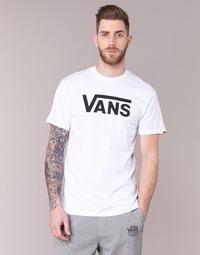 textil Herre T-shirts m. korte ærmer Vans VANS CLASSIC Hvid